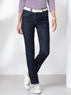 Tencel Superstretch-Jeans Darkblue Detail 1
