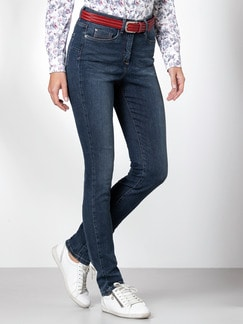 Push-up-Jeans Blue Stoned Detail 1