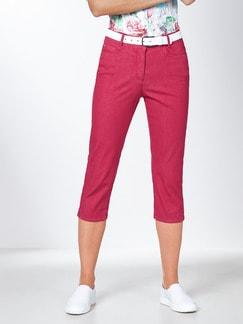 Capri Yoga-Jeans Fuchsia Detail 1