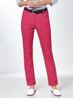 Yoga-Jeans Supersoft Fuchsia Detail 1