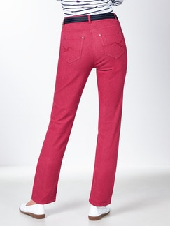 Yoga-Jeans Supersoft Fuchsia Detail 3