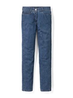 Extraglatt- Jeans Blue Stoned Detail 2