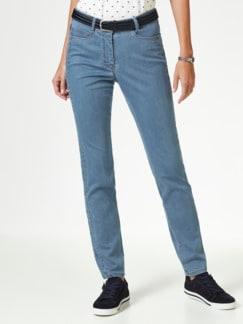 Extraglatt- Jeans Medium Blue Detail 1