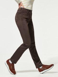 Yoga Jeans Ultraplus Kaffeebraun Detail 1