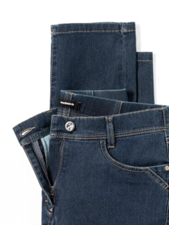 Yoga-Jeans Ultraplus Feminine Fit Blue Stoned Detail 4