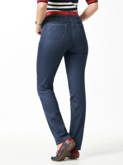 Yoga-Jeans Ultraplus Feminine Fit Blue Stoned Detail 3