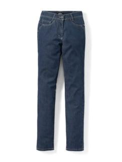 Yoga-Jeans Ultraplus Feminine Fit Blue Stoned Detail 2