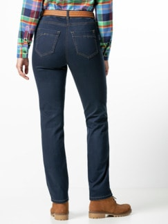 Thermolite-Jeans waterrepellent Dark Blue Detail 3