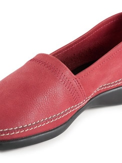 Koffer-Slipper Rot Detail 3
