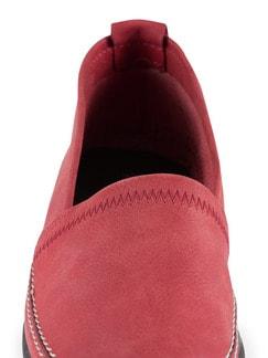 Koffer-Slipper Rot Detail 4