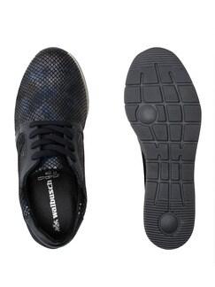 Bequem-Sneaker Blau Detail 2
