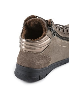 Comfort Kuschel-Sneaker Taupe Detail 3