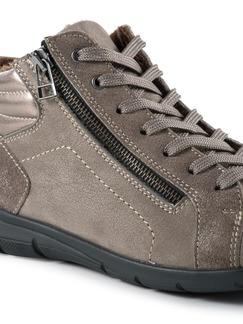 Comfort Kuschel-Sneaker Taupe Detail 4