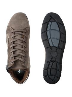 Comfort Kuschel-Sneaker Taupe Detail 2