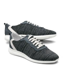 Stretch-Sneaker Blau Detail 1