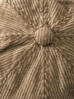 Cordmütze Sand Detail 3