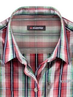 Klepper Bluse Coolmax Hibiskus Detail 3