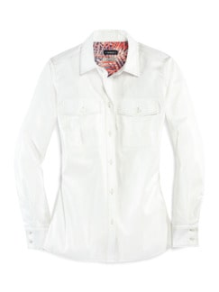 Pima-Cotton-Hemdbluse-Palme