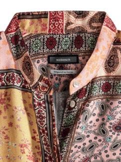 Edel Panneaux Druck Bluse Multicolor Detail 4