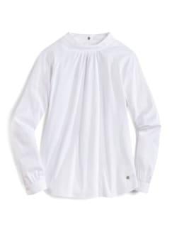 Ultrastrech-Stehkragen-Shirtbluse