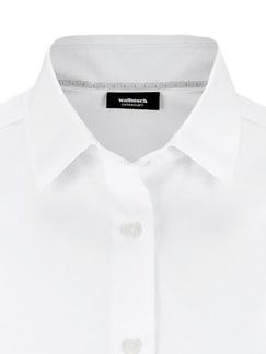 Extraglatt-Hemdbluse Weiß Extraglatt Detail 4