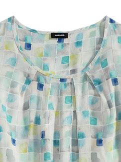 Shirtbluse Porcellana Aqua Detail 3