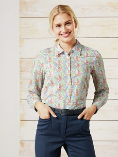 Liberty Bluse Springflower Multicolor Detail 1