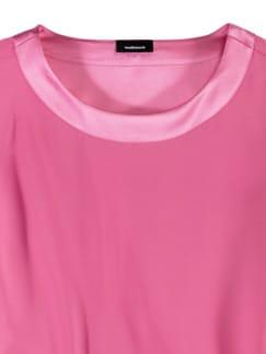 Seiden-Shirtbluse Edel-Basic Pink Detail 3
