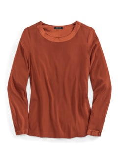Seiden-Shirtbluse