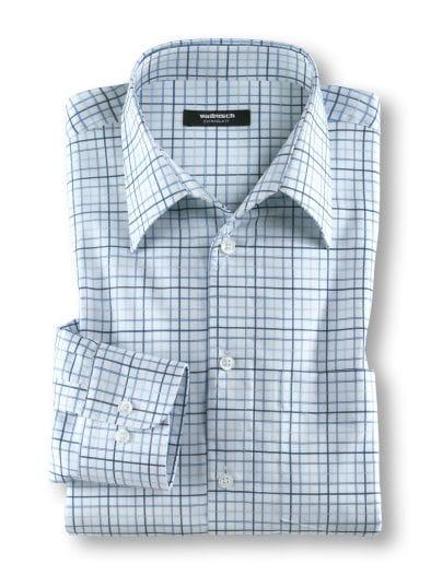 Extraglatt-Hemd Walbusch-Kragen