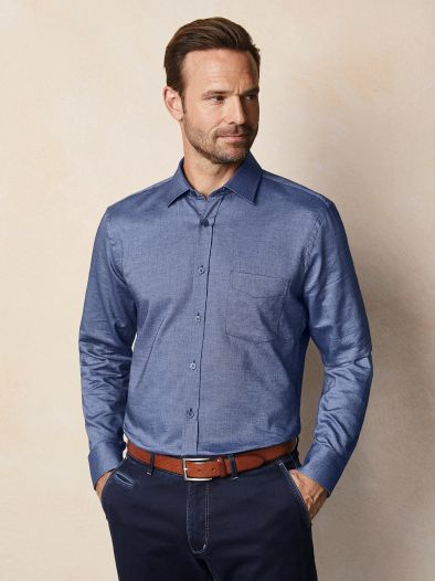Softcotton Oxford-Hemd
