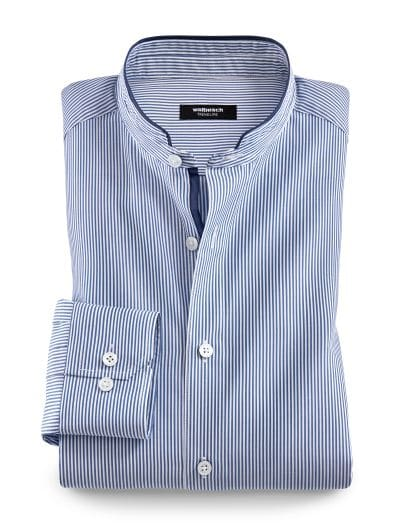 casual shoes factory outlets genuine shoes Stehkragen Hanseatic-Shirt