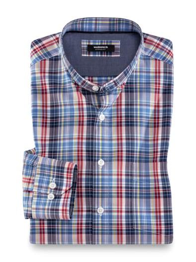 Extraglatt Shirt Karo