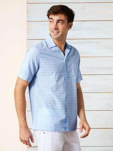 Reverskragen-Sommerhemd