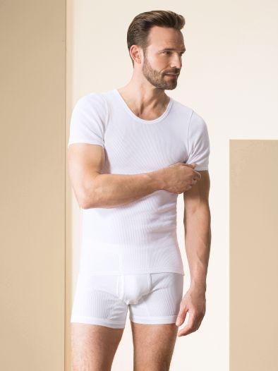 Doppelripp-Shirt 2er-Pack