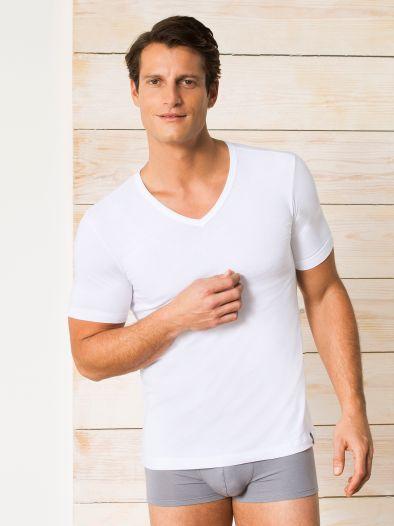 Schiesser V-Shirt 1/2 Arm  95/5