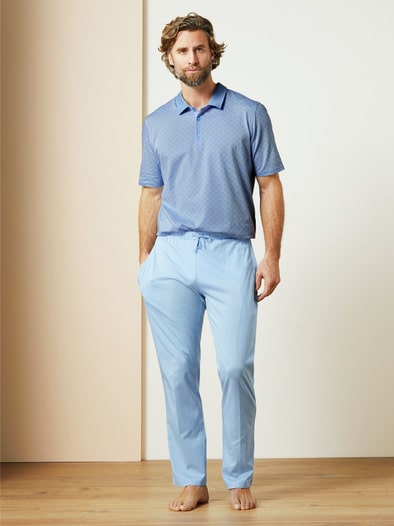 Polo-Schlafanzug Naturstretch
