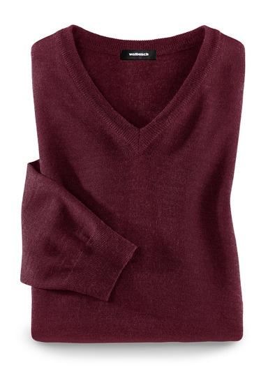 Merino-Mix V-Pullover
