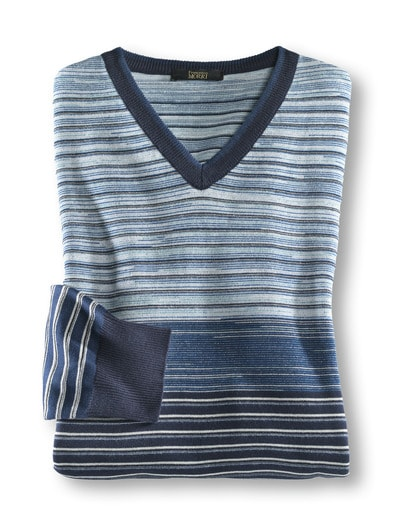 Franceso Morri Streifen-Pullover