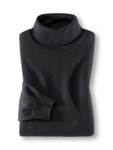 Premium Rollkragen Pullover
