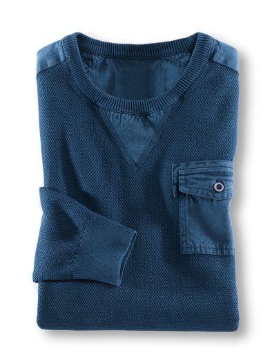 Reiskorn Pullover Indigo