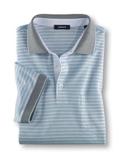 Streifen Polo Edel-Cotton