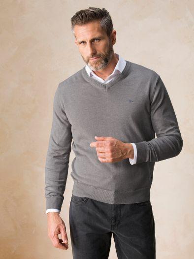 Baumwoll- Mix Pullover