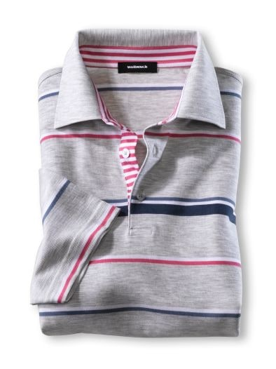 Soft-Cotton Streifen-Polo