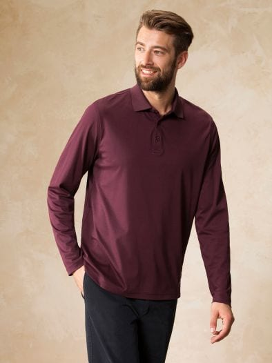 Langarm-Polo Royal Cotton