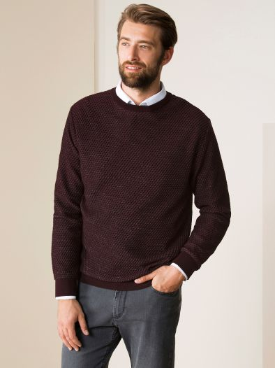 Honeycomb-Pullover