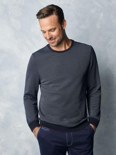 Soft-Pullover Bicolor