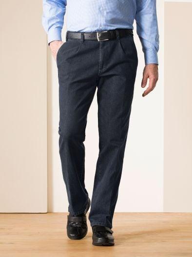 Gardeur-Jeans Bundfalte