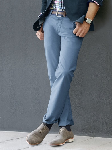 5-Pocket Baumwollhose Comfort Fit