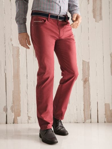 300-Gramm-Sommerhose Slim Fit
